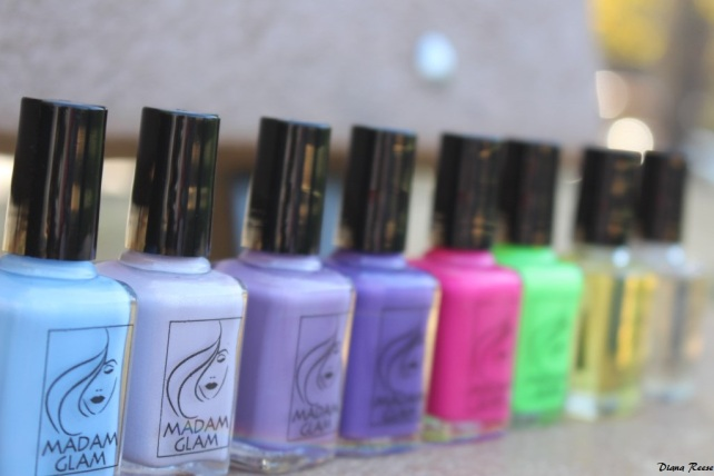 Madam Glam Nail Polish Haul