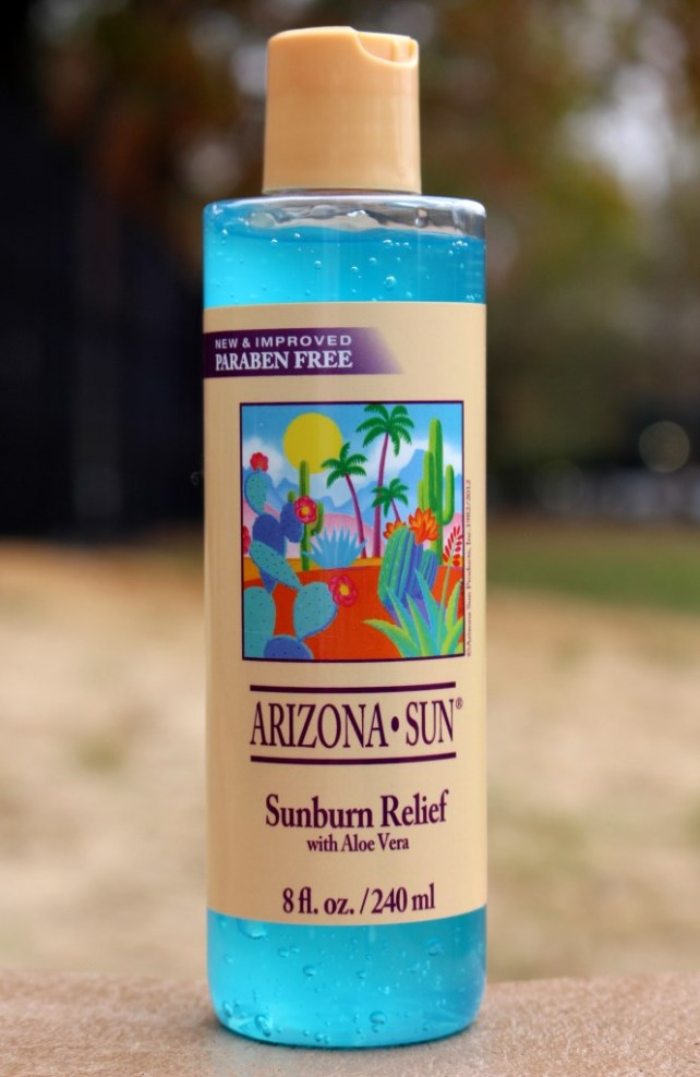 Arizona Sun Sunburn Relief with Aloe Vera