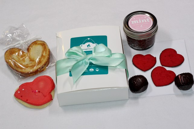 February 2015 Valentine`s Day Themed Orange Glad Box
