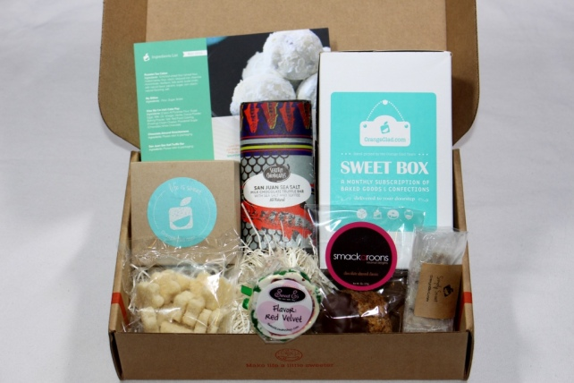 Orange Glad Box March 2015