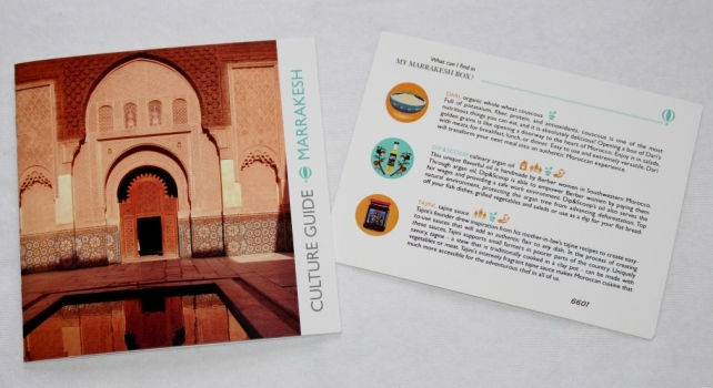 Try The World Box Marrakesh Culture Guide