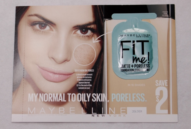 Fit Me Matte + Poreless Foundation by Maybelline