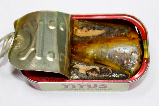 Sardines in oil by Titus