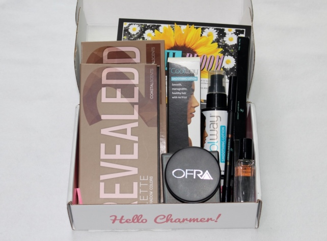 April Boxycharm Total Value $147