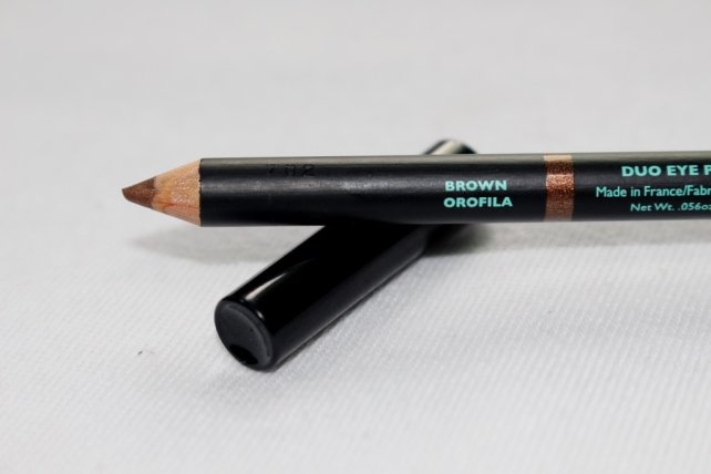 Double-Sided Eye Pencil by Vincent Longo - Brown Orofila Side