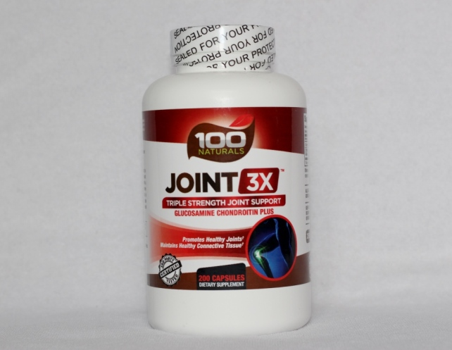 100 Naturals Joint 3x Triple Strength Joint Support