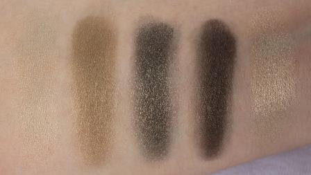 Borghese Eclissare Color Eclipse 5 Shades of Fresh Swatches