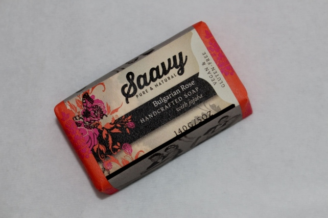 Bulgarian Rose Bar Soap by Saavy Naturals