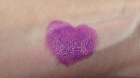The Lip Bar Lipstick in Purple Rain Swatch