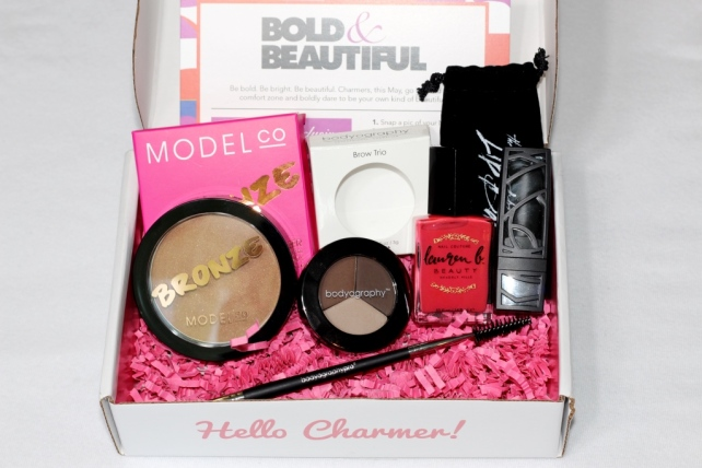 Boxycharm May 2015 Total Value $98