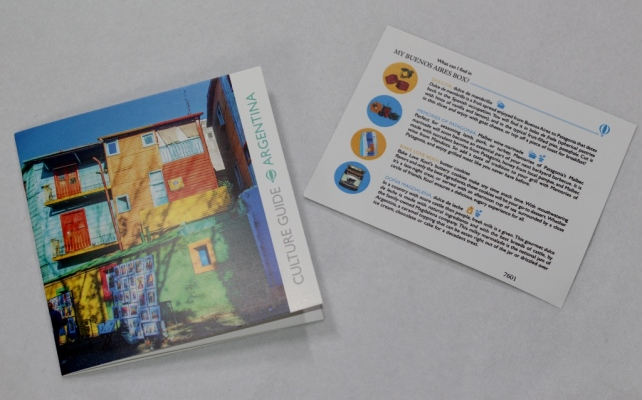 Try The World Box Buenos Aires Box Culture Guide and Information Card
