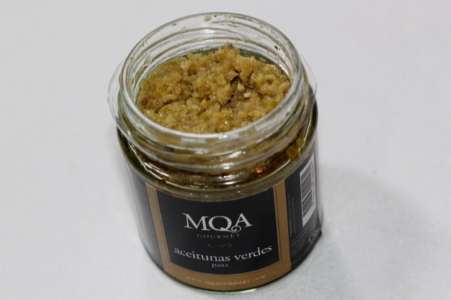 MQA Gourmet Green Olive Paste