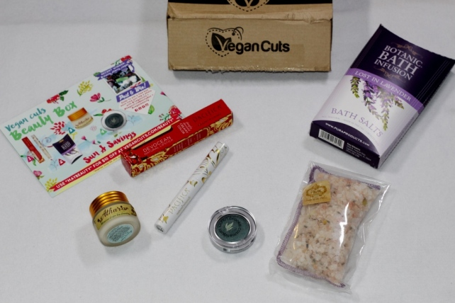 Vegan Cuts Beauty Box May Content