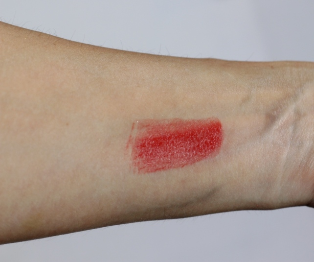 Pacifica Devocean Natural Lipstick in Firebird Swatch