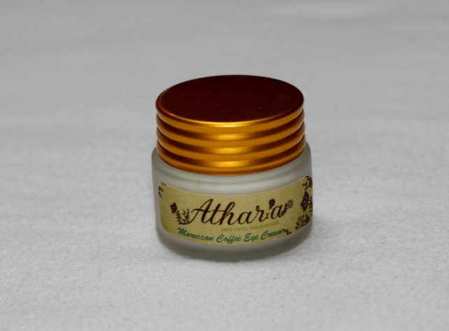 Athar`a Moroccan coffee eye cream