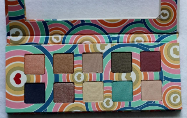 Pacifica Power of Love Coconut-Infused Mineral Eye Shadow Palette