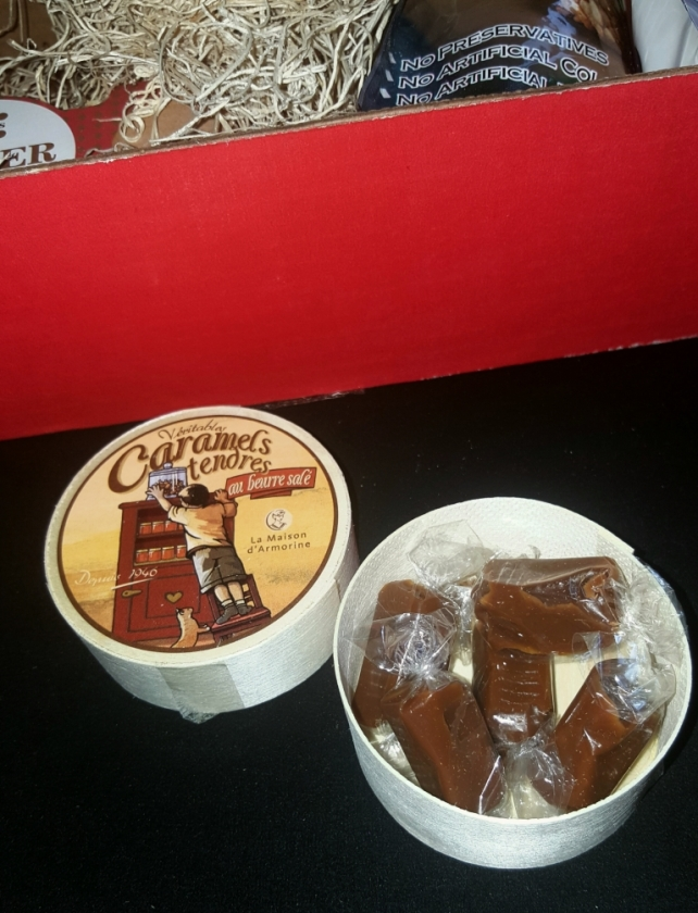 Soft Salted Butter Caramels Product of France