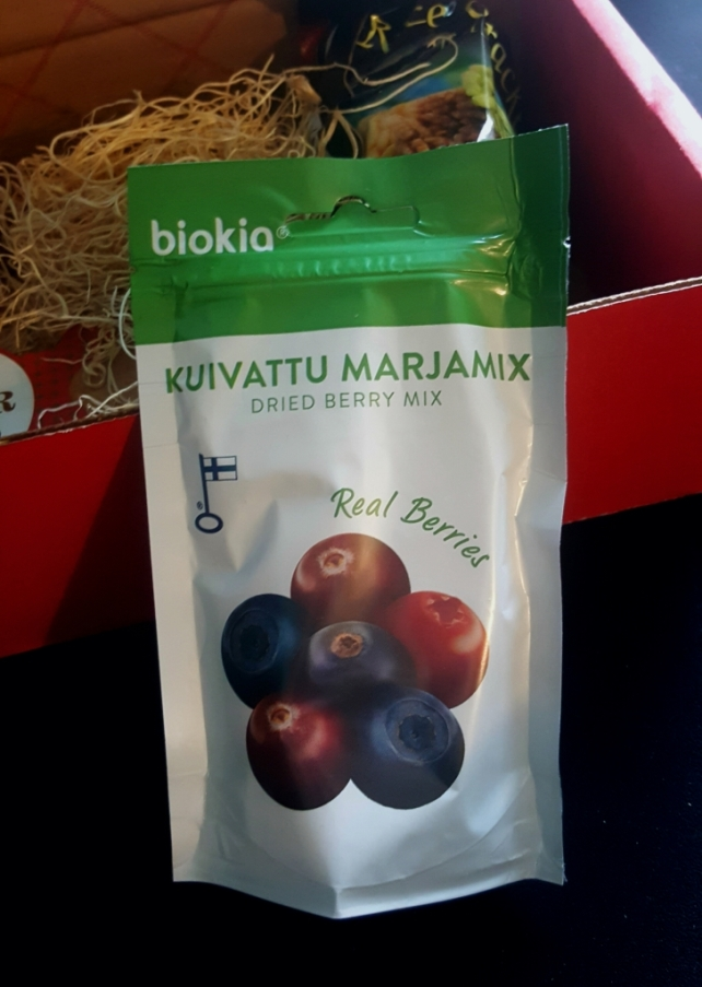 Dried Berry Mix Product of Finland