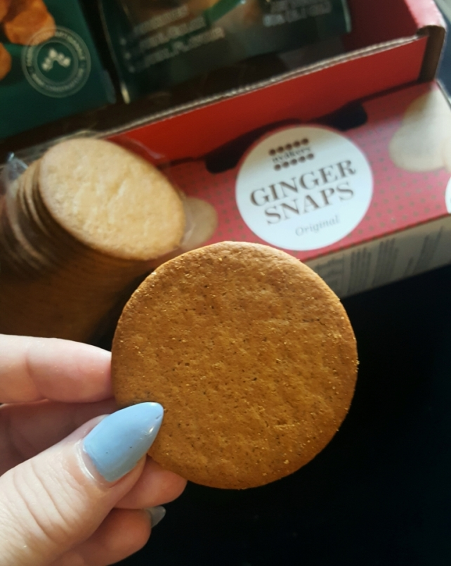 Original Ginger Snaps Product of Sweden