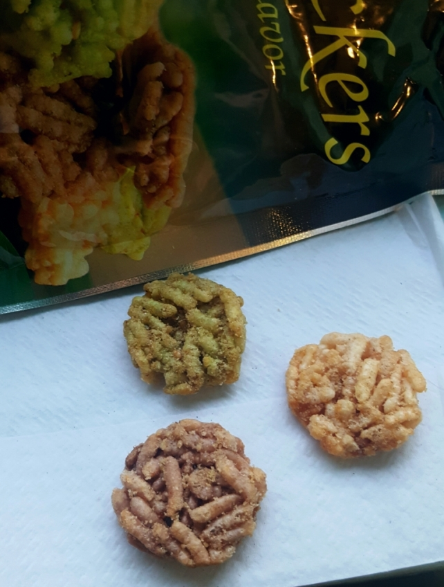 Spicy Thai Rice Crackers Product of Thailand